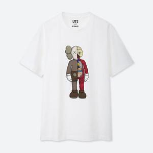 Camisetas Moda Masculina Verão Camiseta Casual T Sesame Street Mulheres shirt 2020 Unisex Tops alta qualidade