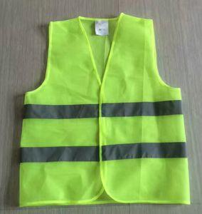 Высокая видимость светоотражающий жилет строительство движение склад Безопасность Безопасность светоотражающий жилет безопасности Безопасная рабочая одежда LJJK1914
