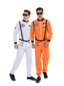 Мода Homme Stage Wear астронавты мужская косплей одежда с поясом Хэллоуин и маскарадная одежда для вечеринок