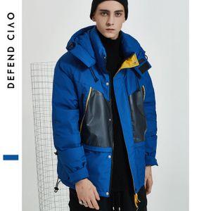 Piumino da uomo Designer Luxuy Letter Mens Giacche spesse da esterno Fashion Active Womens Winter Hooded Clothes con tasche Formato asiatico M-2XL