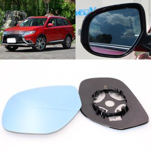 For GAC Mitsubishi Outlander large field of vision blue mirror anti car rearview mirror heating wide-angle reflective reversing