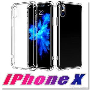 Casos de alta qualidade para Samsung S20 Plus Ultra Absorção TPU Choque macia tampa transparente anti-risco para o iPhone de 11 Pro Max 8 7 Plus SE