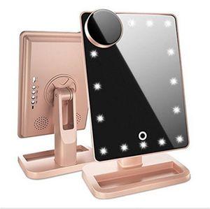 Best selling Bluetooth audio makeup mirror LED light illuminating mirror vanity mirror creative new fashion gift SZ315