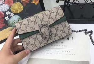 Hombro mujeres de la manera cadena del bolso del bolso del mensajero de la alta calidad de los bolsos del monedero de bolsos de diseño bolsas de cosméticos Cruzado totalizadores r03