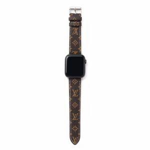Bracelet montre de bande pour Apple 42mm 44mm cuir PU remplacement intelligent Montres avec adaptateur connecteur Apple série 3 2 1