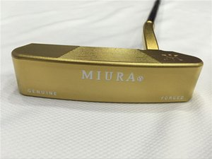 Brand New MiURA Putter MiURA Golf Forged Putter MiURA Golf Clubs 33 34 35 Inch Steel Shaft With Head Cover