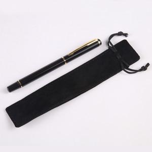 1 Özel DIY Yılbaşı Hediyeleri Ile Metal Siyah İmza Makaralı Tükenmez Kalem Ücretsiz Adı Lazer Kalem Üzerinde VIP Kazımayı Kişiselleştirilmiş kalem logo kılıfı çanta