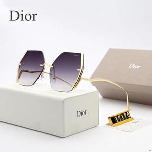 Herren Vintage-Quadrat-Sonnenbrille Objektiv Brillen Zubehör Männer Sonnenbrillen für Männer Frauen 2501