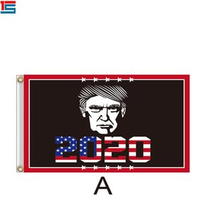 Trump 2020 Flagge US-Präsident Wahlkampf Flagge Frauen für Trump 2020 kepp Amerika Großen Dekor Banner LJJA3807