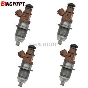 Original Used 4pcs Fuel Injectors E7T05072 DIM1100G For Mitsubishi Pajero IO H67W H77W 4G93 4G94 Pajero Pinin 2.0