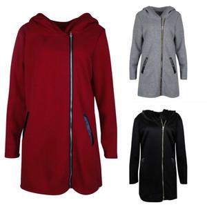 Damen-Frauen-Mädchen-Kleidung mit Kapuze Vlies-Pelz-Graben Parka Coat Plus Size Kleidung