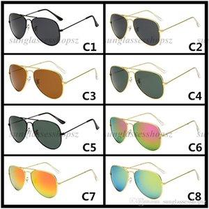 Nouvelles lunettes de soleil polarisées hommes et femmes de la mode classique lunettes de soleil anti-UV couleur film lunettes 58mm