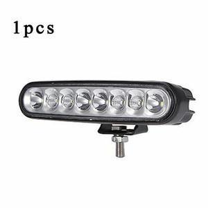24W 8-LED luce del lavoro barra singola riga auto Rimontare DRL Off-road Kit lampada di manutenzione