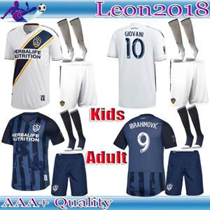 성인 키즈 키트 2019 MLS LA 갤럭시 축구 유니폼 19 20 LA 갤럭시 IBRAHIMOVIC GIOVANI KAMARA 청소년 축구 유니폼 셔츠