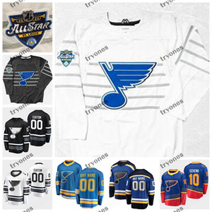 Personalice 2020 All Star Game Ryan O'Reilly David Perron Alex Pietrangelo Binnington St. Louis Blues Hockey Jerseys Allen Tarasenko Barbashev