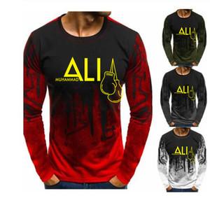 Nouveau mode Muhammad Ali T-shirt des hommes MUHAMMAD ALI T-shirts Hommes Vêtements décontractés MMA Coton T-shirt Homme T-shirts Tops