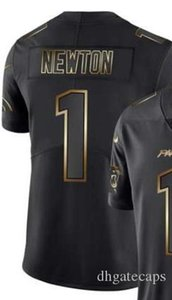 Vapor limitée Golden Black Jersey Carolina Hommes 1 22 59 Chemises jersey Toutes les équipes maillots de football américain