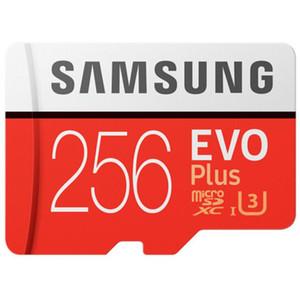1 pièces 32Go / 64Go / 128Go / 256Go Samsung EVO + Plus carte micro sd U3 / carte smartphone TF C10 / Tablet PC SDXC Stockage 95MB / S