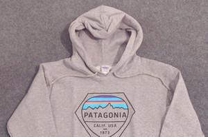 2019 Mens 18SS Hoodies PATAGONIA MOUNTAIN Sweatshirts Fleece Fashion Tops Pullovers men's women hoodies free shipping
