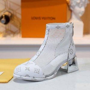 botas de maré explosivos, senhoras designer de moda malha botas, tamanho 35-41, senhoras sapatos com caixa