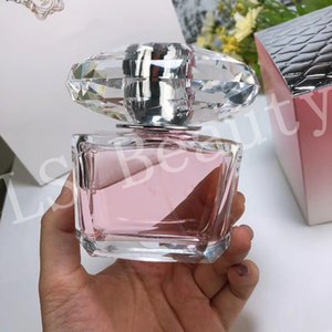 الراقية مشرق CRYSTAL 90ML إمرأة عطر طويلة الأمد عطور النساء الزهور رائحة مزيل العرق Parfumes رذاذ البخور