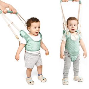Bebê Walker criança Harness Assistant Backpack das crianças das crianças Walking Aprendizagem Belt Stand Up trelas Correia Asas 10-36 Meses