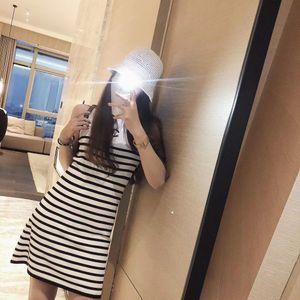 New style temperament-dress high-grade ice strap skirt waist slimming slim lady sleeveless dress women