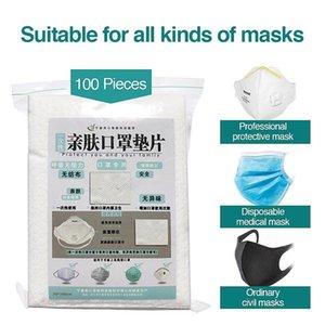 100pcs descartável Filtro Pad for Kids Adulto face respirável Máscara Respirador Dustproof adequado para todos os Pad Máscaras de substituição