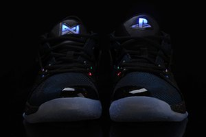 New New Lights UP PG 2 PlayStation Taurus Road Master Kids Basketball Shoes for Paul George II PG2 2s PS Athletic Sport Sneakers