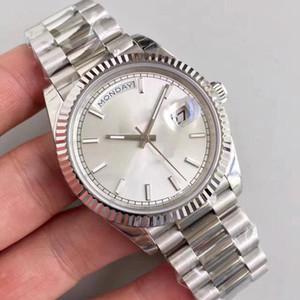 Новые мужские часы Sweep Automatic Movement Machine Day - дата из нержавеющей стали с сапфировым стеклом мужские часы Night Light наручные часы