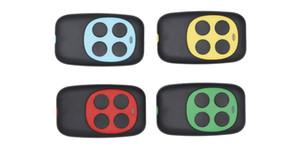 Colorido Quatro-Chave Copiando Controle Remoto Da Porta Da Garagem Portão Controle Remoto Sem Fio 433 MHZ Cópia Chave Clonagem Duplicador