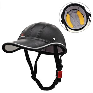 Outdoor Sports Cycling Safety Helmet Baseball Cap Hat for Motorcycle Bike Scooter