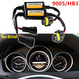 2pcs H7 H8 H9 H11 H4 H1 H3 9005 HB3 9006 HB4 9012 H13 Car LED Headlight Bulbs Canbus Decoder Resistor Wire Harness Adapter