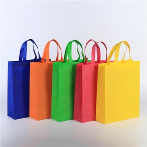 Reusable Tote Bags Travel To-Go Food Containers Non-woven Fabric Party Tote Bags Reusable Shopping