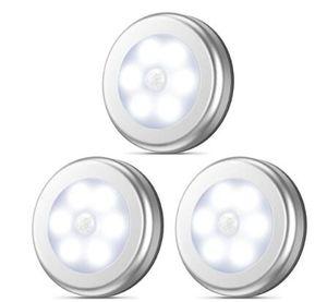 Capteur de Mouvement PIR Sous La Lumière Du Cabinet Auto Smart Nuit Lampe Lampada LED Lumières Pour La Maison Chambre Garde-Robe Cuisine Garde-Robe Lumière