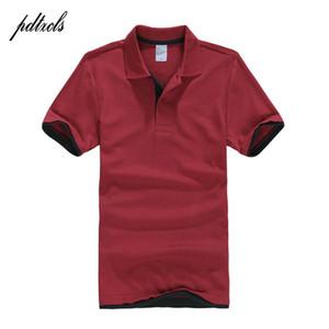 PDTXCLS Hommes Polos Hommes desiger Polos Hommes Coton Chemise à manches courtes de vêtements Golf Tennis Big Size Polos XXL