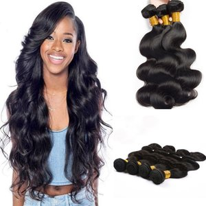 9A Mink Body Wave virgin Hair Bundles Hot Sale Peruvian 3 Bundles Body Wave Human Hair Wet And Wavy Hair Wefts