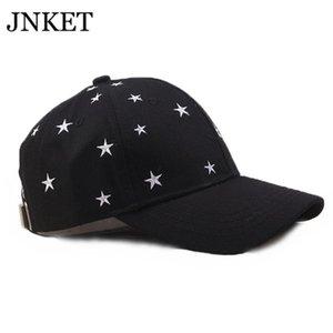 Mulheres Moda de beisebol estrela de cinco pontas ajustável Snapback Hat Outdoor Sports Hat Gorras Baseball Casquette