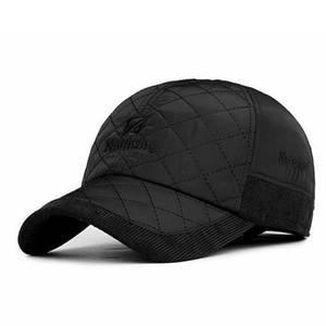 قبعات البيسبول للرجال جودة عالية الشتاء الدافئ قبعة عارضة المشي الدافئة قبعة snapback أبي قبعة العظام casquette القطن الذكور