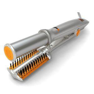 Magia cepillo de aire eléctrica Un paso 2en1 caliente Secador de pelo SVolumizer Salon Tyler multifuncionales alisadores rizador de peine para todo tipo de cabello