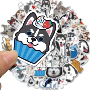 50 PCS Mixed Car Stickers Cute Pet For Skateboard Laptop Fridge Helmet Pad Bicycle Bike Motorcycle PS4 Notebook Guitar PVC Decal