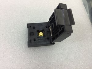 QFN-48 (56) BT-0.5-01 Enplas IC Test Soketi QFN48P 0.5mm Pitch 7X7 MM Soket İçinde Yanmak