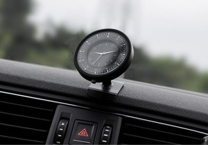 Creative new car air outlet mobile phone bracket magnetic suction instrument table clock mobile phone navigation bracket