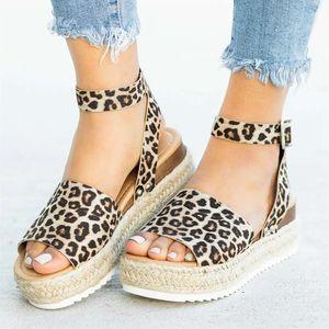 Cunei Scarpe Per Donna Sandali Plus Size Tacchi Alti Scarpe Estive Flip Flop Chaussures Femme Sandali Piattaforma Drop Shipping Y19070203
