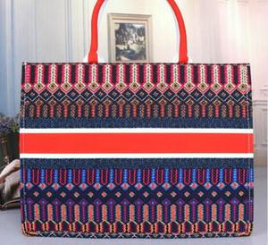 Diseñador de bolsos de las mujeres de las señoras de la flor de asas casual bolsos de hombro de la lona diseñador de cuero mujer Monedero 2020 monederos bolsos de lujo diseñador