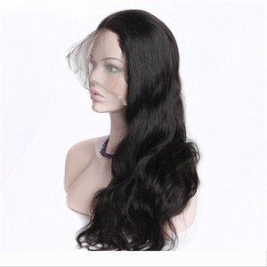 HCDIVA 360 Full Lace Front Human Hair Wigs For Black Women Pre Plucked 150% Density Body Deep Wave Loose Kinky Curly Brazilian