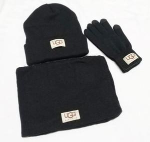 Yeni Tasarımcı Şapkalar Atkılar Eldiven Beanie Soğuk Hava Aksesuarları Kaşmir Hediye için ayarlar Moda Eşarp Eldiven Setleri Erkekler Kadın