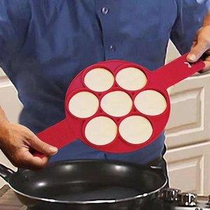 Eco-Friendly Яйцо Mold выпекание Флиппин Фантастическая Fast Easy Tool оладьи Ring Maker антипригарной блинница Формы для выпечки Формы