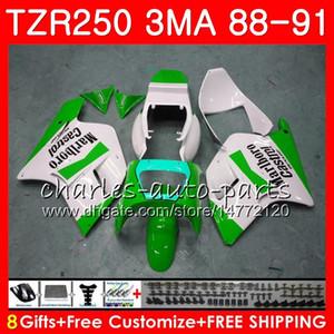 Vücut YAMAHA fabrika yeşil TZR250 3MA TZr 250 RS RR YPVS TZR250RR 118HM.111 TZR250 88 89 90 91 TZR250 1988 1989 1990 1991 Kalafatlama kit için