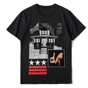 Ünlü Erkek T Shirt Erkekler Kadınlar Hip Hop Yaz Tişörtlü Mürettebat Boyun 3D Baskılı Stilist Kısa Kollu Tişörtler Boyut S-XXL